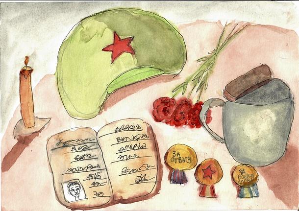 Трое школьников из Одинцовского округа вошли в число победителей конкурса «Открытка Победы»