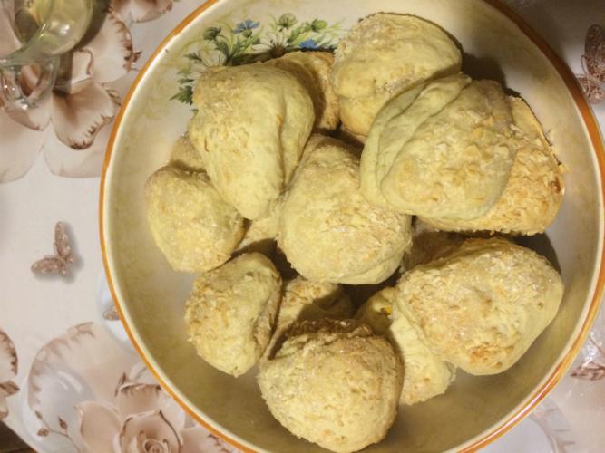Домашнее печенье «Поцелуй»