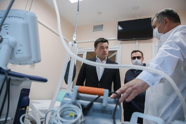 Инфекционный центр в Звенигороде откроется к 7 апреля