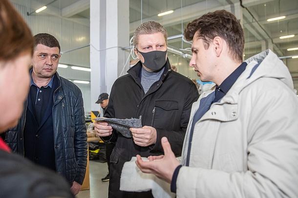 Одинцовский округ начнёт получать современные антибактериальные маски