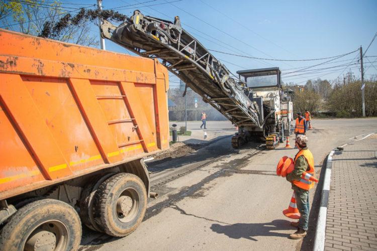 Продолжается сезонный ремонт дорог