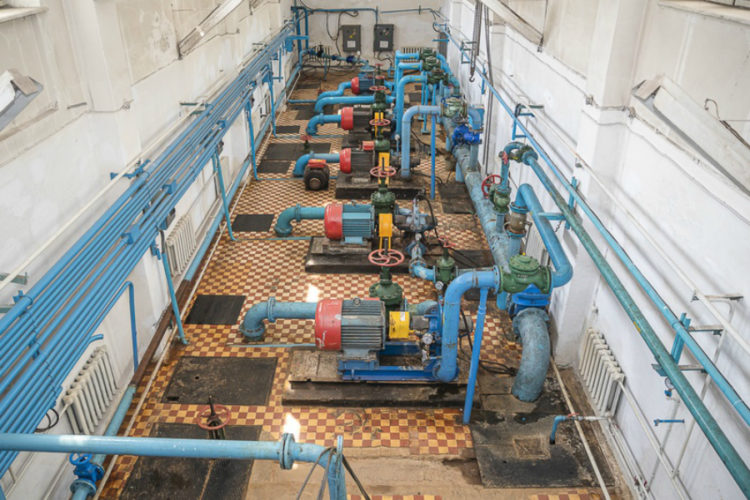 В Одинцово начинается реконструкция водозаборного узла №1
