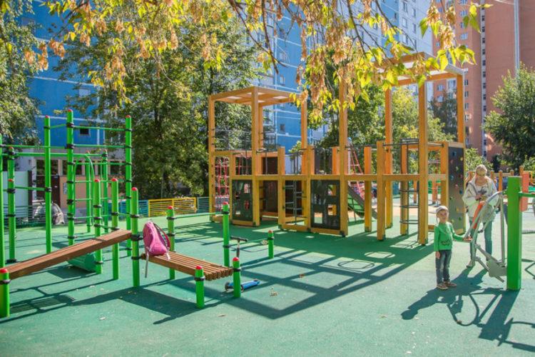 Места для новых детских площадок выбрали жители