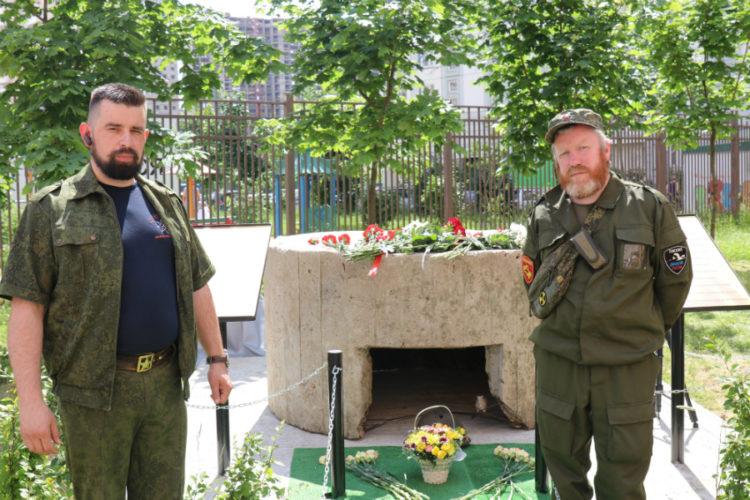 В день Парада Победы в Новой Трёхгорке открыт военный памятник
