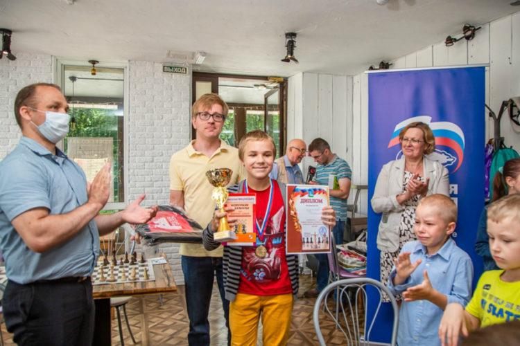 Большой день шахмат в Одинцово