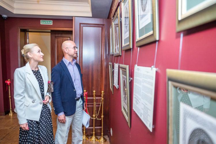 Выставка гравюр и фотографий, посвящённая 300-летию Императорского Дома Романовых, открылась в Усово