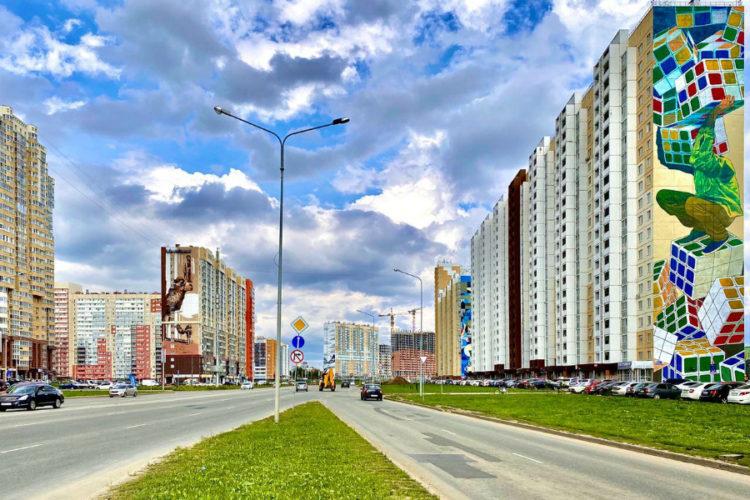 В Челябинске стартовал первый этап фестиваля «Урбан морфогенезис — 2020»