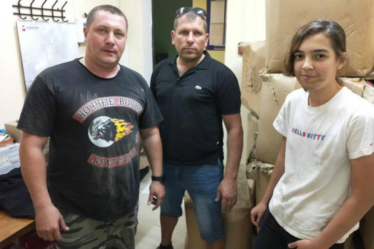 Звенигородские «Ночные волки» подарили детям 800 мягких игрушек