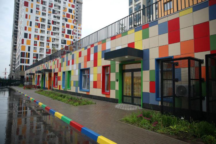 Новый детский сад на 105 мест откроют в квартале «Спутник» в Одинцовском округе