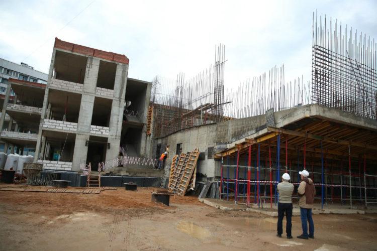 Новый Дом культуры в Горках-10 планируют открыть к сентябрю 2021 года