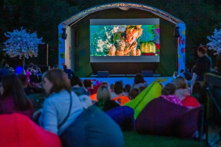 «Ночь кино» пройдёт на Лазутинке 29 августа
