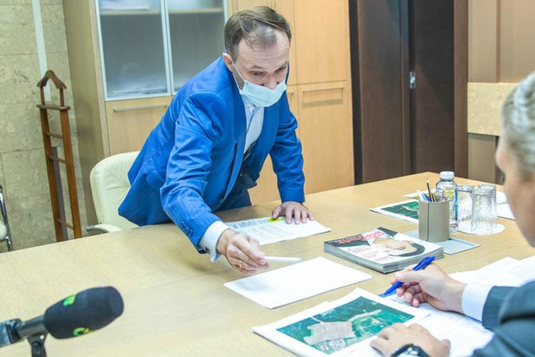 Андрей Иванов провёл личный приём жителей