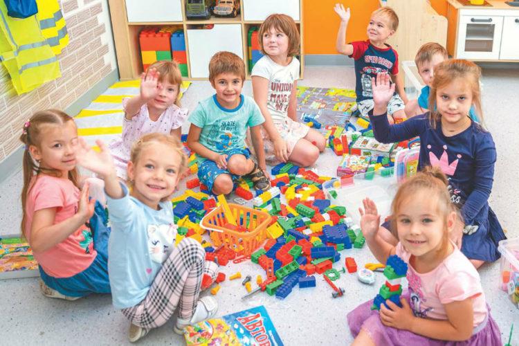Новый детский сад открылся в микрорайоне Одинцово-1