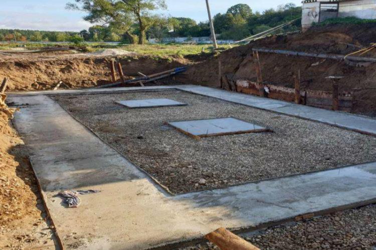 В Горках-10 модернизируют очистные сооружения