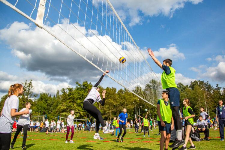 Волейбольный бум на Лазутинке