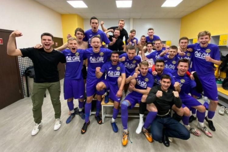 Футбольный клуб из Одинцово стал серебряным призёром областного чемпионата