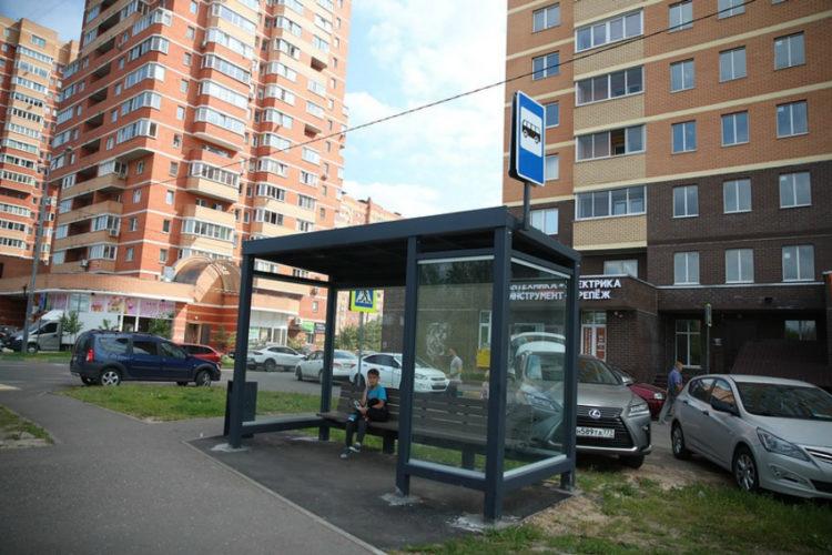 К июню 2021 года в Звенигороде обновят все остановки