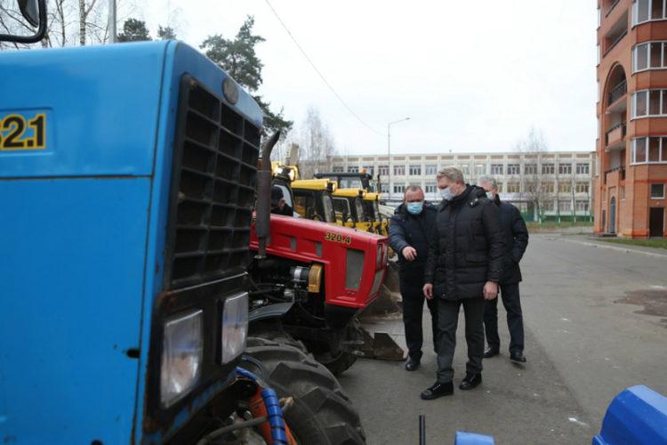 Андрей Иванов: «Коммунальные службы готовы к уборке снега»